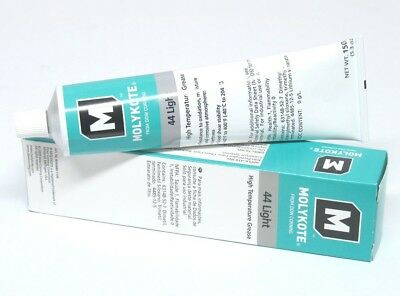DOW CORNING MOLYKOTE 44 LIGHT High Temp Silicone Grease Lubricant 5.3 oz Tube