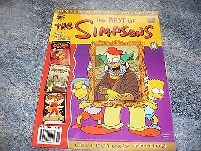 The Best Of Simpsons Collectors Edition Comic 11 2004 Complete With Poster