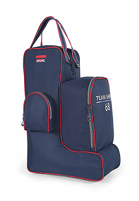 Shires Team Boot Hat & Whip Bag - Navy Blue