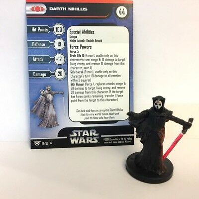 Star Wars Champions of the Force #12 Darth Nihilus (VR) Miniature