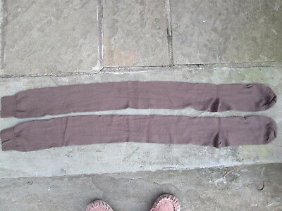 Reenactor 18-19Th C Rev War Unisex New Colonial Choco Brown Cotton Stockings F&i