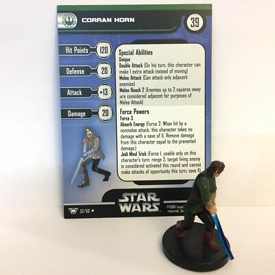 Star Wars Champions of the Force #52 Corran Horn (R) Miniature