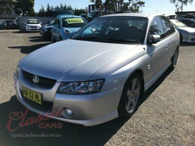 2005 Holden Commodore VZ SV6 Silver Automatic 5sp A Sedan