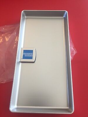 American Express Amex Silver Tip Trays Check Presenters Free Shipping