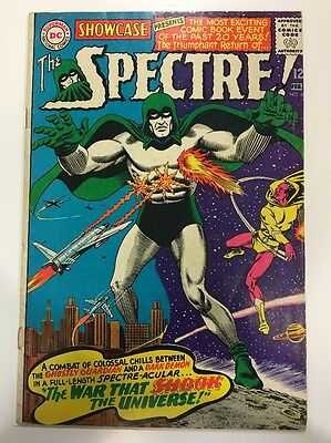 Showcase 60 Presents The Spectre 1st Silver Age Appearance 1966 First Azmodus DC