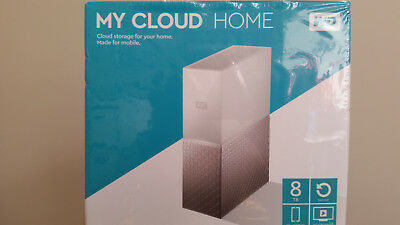 WD Western Digital My Cloud Home 8TB nas - RRP for new $459.00