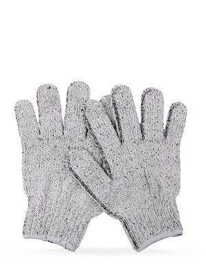 * Manicare Charcoal Exfoliating Gloves Soft Suitable For All Skin Types Cleanses