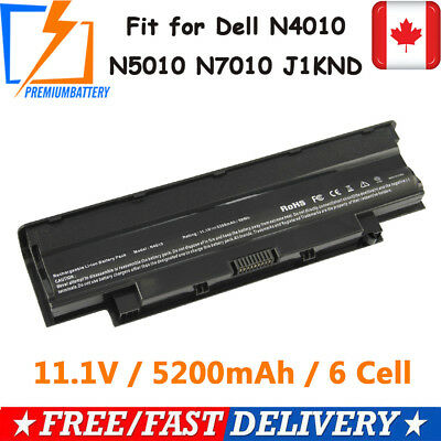 Battery J1KND For DELL Inspiron 3520 3420 M5030 N5110 N5050 N4010 Laptop 6 Cell