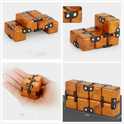 Infinity Cube Fidget Toy Anti stress Pressure EDC Pocket Adults Kids ADHD Gift