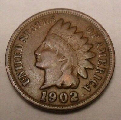 1902 P Indian Head Cent Penny  SDS  **FREE SHIPPING**