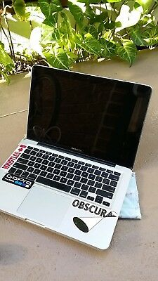 Macbook Pro laptop 7,1 A1278 with charger , for parts or repair