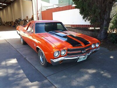 Chevolet 1970 Ss El Camino 396 Big Block - Auto