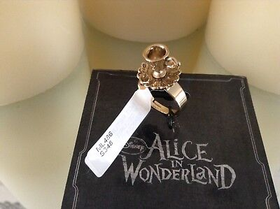 Disney Couture Alice In Wonderland Ring Tea Cup