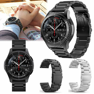 Stainless Steel Strap Watch Band For Samsung Galaxy Gear S3 Frontier / Classic