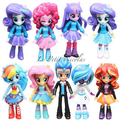 Harsbro My Little Pony Equestria Girls Twilight Sparkle lot de 9 Figurines jouet