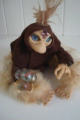 Hand-crafted Witch Figure- Old Hag or Crone