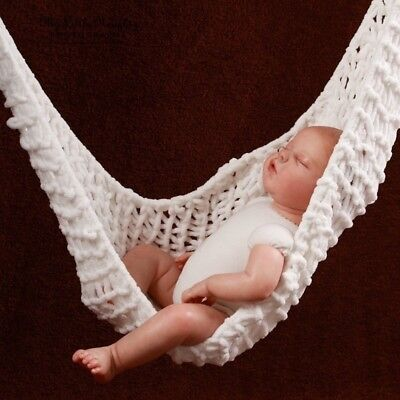 Portable Bed Crochet Baby Hammock Photography Prop Knitte Newborn Infant Toddler