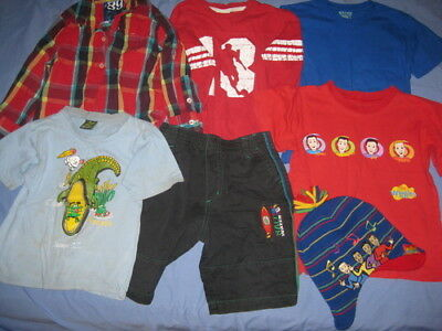 Bulk Lot Boys Clothing Including Wiggles