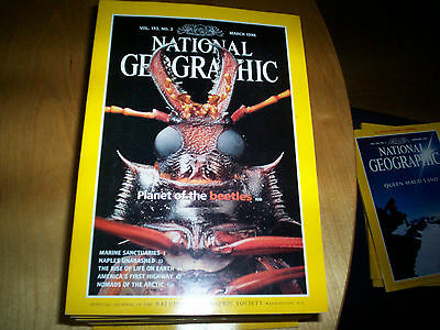 national geographic magazine march 1998