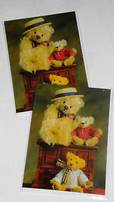 BIRTHDAY CARDS 'MR THEOBALD' X 12, JUST 27p, wrapped, foiled, 1 design, (B38