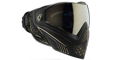 Paintball Maske DYE I5 Onyx Thermal gold