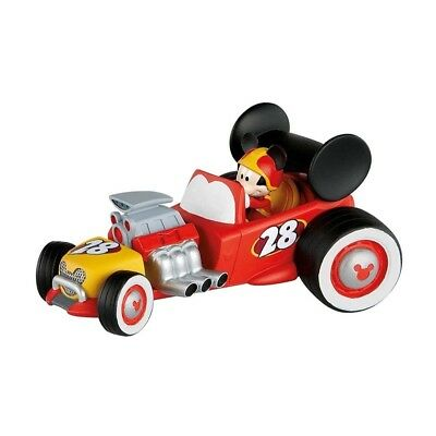Mickey and the Roadster Racers: Racer Mickey with Car static figure- BULLYLAND