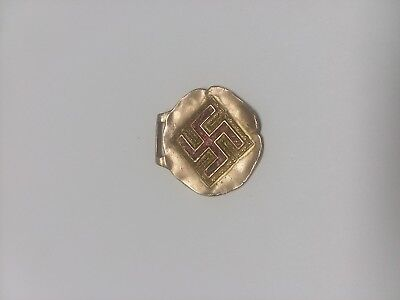 EXTREMELY RARE 1915 Coca Cola Swastica Watch Fob Advertising. FREE SHIPPING!