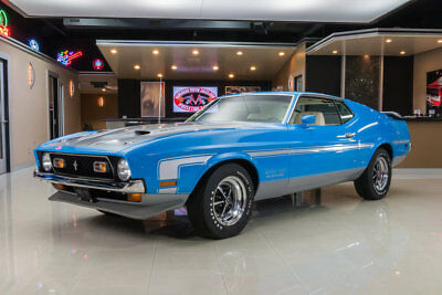 Ford Mustang Boss 351 Rotisserie Restored! 351ci Cleveland V8, #s Matching Toploader 4-Speed, PB, PS!