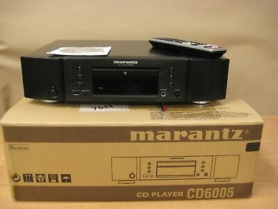 Marantz compact disc player black CD6005 HI-FI boxed with remote