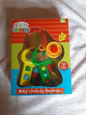 Giggle and Grow Baby's Activity Keychain