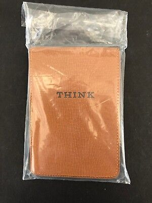 IBM Vintage Leather Note Pads NEW
