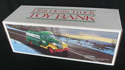 First Hess Truck Bank In Original Box - 1980