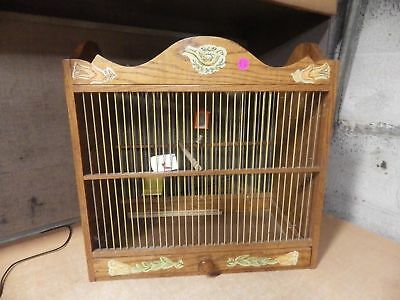 Awesome Vintage Antique Arts & Crafts Handmade Bird Cage House Wood Pics!!!!