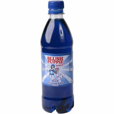 Official Slush Puppie Frozen Blue Raspberry Syrup 500ml for Ice Slushie Drink