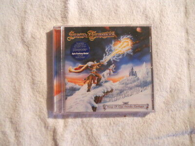 """Luca Turilli """"King of the nordic Twilight"""" 1999 cd LMP Records New Sealed"""