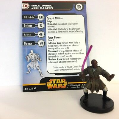 Star Wars Revenge of the Sith #13 Mace Windu, Jedi Master (VR) Miniature