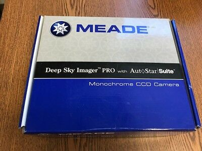 Meade Deep Sky Imager Pro with AutoStar Suite - Monochrome CCD Camera