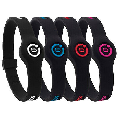 Bioflow Sport Slim Magnetic Silicone Therapy Recovery Wristband New Bracelet