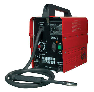 Mightymig100 Sealey Professional No-Gas Mig Welder 100Amp 230V  Brand New Tool!