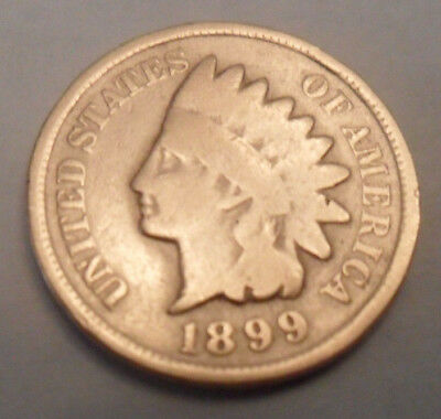 1899 P Indian Head Cent / Penny  SDS  **FREE SHIPPING**