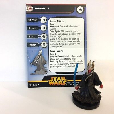 Star Wars Revenge of the Sith #19 Shaak Ti (R) Miniature