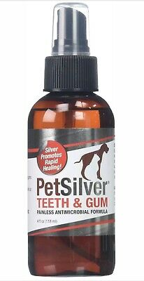 PetSilver Teeth & Gum Spray for Dogs and Cats | Vet Formulated | Natural Dent...
