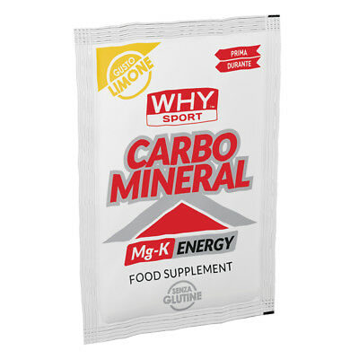 WHY SPORT CARBO MINERAL 20 GR Limone