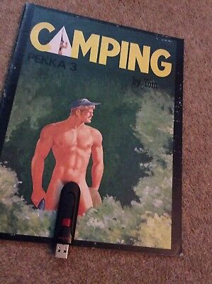 "TOM OF FINLAND VINTAGE ""PEKKA"" Magazine CAMPING. GAY INTEREST. RARE!"