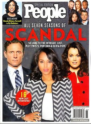 CLEARANCE! People Special Edition SCANDAL All Seven Seasons