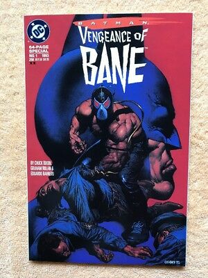 Batman Vengeance Of Bane VF/NM second printing 1993 White Pages unopened