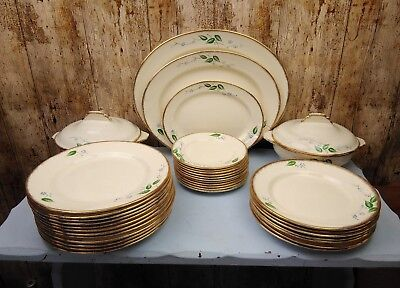 "Crown Devon Fieldings, Hand Decorated Art Deco Dinner Set ""See Description"""