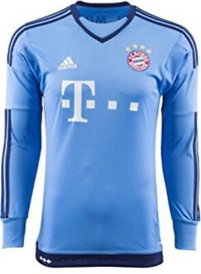 Bayern Munich Home Goalkeeper Shirt - Official Adidas Mens Shirt S08660