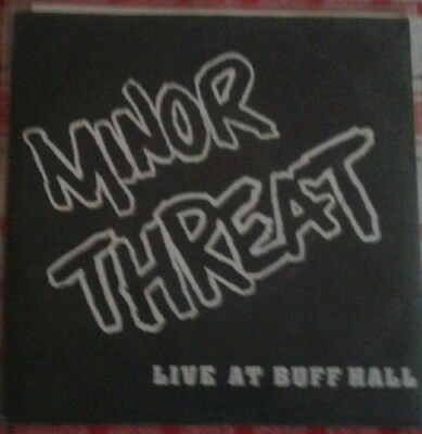 """7"""" Minor Threat - Live At Buff Hall / 1st Press (7 Song) LOST+FOUND"""