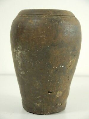 A C15th Thai glazed pot from an unknown  S E Asian shipwreck